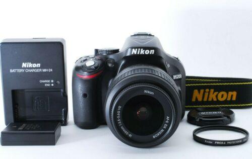 N.MINT Nikon D5200 24.1MP DSLR Camera 41,018shots AF-S DX G VR 18-55mm f/3.5-5.6