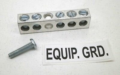 Siemens Ecgb5 5-terminalposition Ground Bar Kit Equivalent To Gb5 Egb5