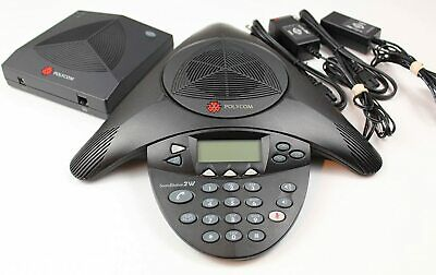 Polycom Soundstation 2w Ex 2201-07800-022 Dect 2.4 Ghz Wireless Conference Phone