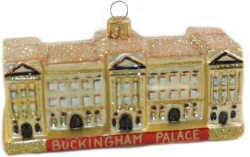 Buckingham Palace London England Polish Glass Christmas Ornament 110094