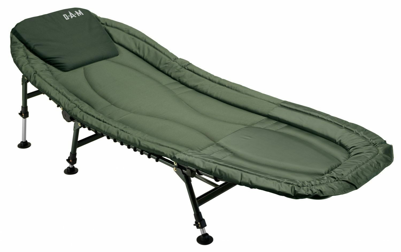 DAM Luxus Alu Karpfenliege Bedchair Angelliege Anglerliege Campingliege