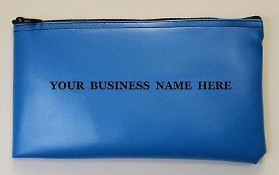 Personalized Business Bank Deposit Bag Money Bag Zipper Wallet 6
