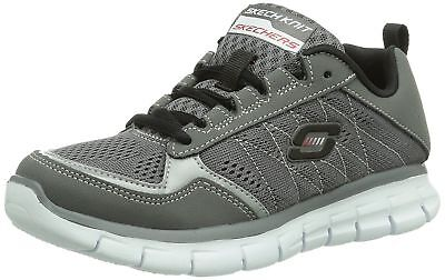 Skechers Synergy power Switch Trainers- Grey UK 11 EU28.5 CH04 58