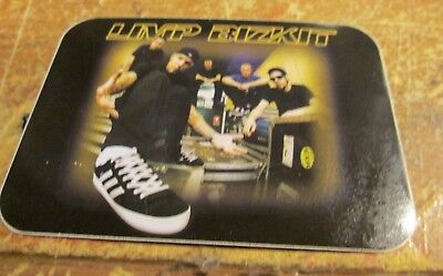 LIMP BIZKIT STICKER VINTAGE  NEW FROM LATE 1999 HEAVY METAL WOW