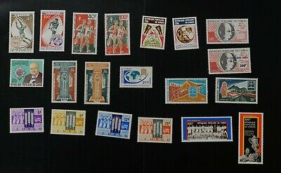 Congo collection of VF MNH complete sets 2017 cv$38.90 (k368)
