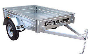 6 x 4 GALVANISED TRAILER - SAVE $350 AS NEW Footscray Maribyrnong Area Preview