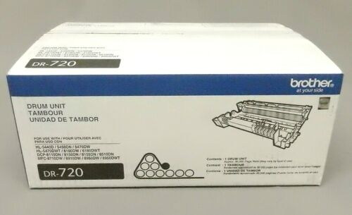Brother DR-720 DR720 Drum Unit HL-5440D Genuine New Open Box
