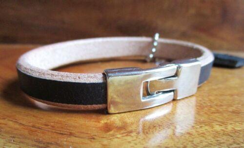PGA Tour Handmade leather golf bracelet toggle clasp USA made men women Woods