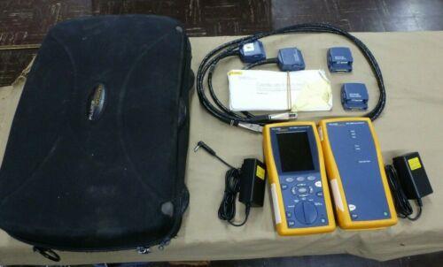Fluke Networks DTX-1800 Cable Analyzer & Smart Remote w/Case - Read Description