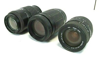 Lot of 3 Lenses - Different models, Free Ship