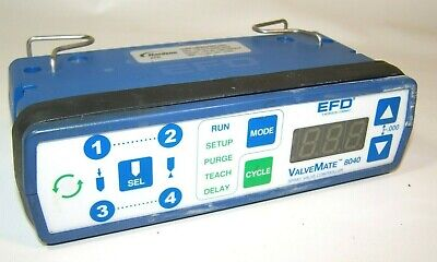 Nordson Efd 7022120 Valvemate 8040 Spray Valve Glue Controller L714
