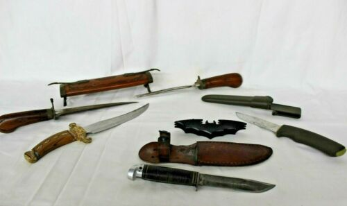 Pre Owned 5 Unusual Assorted Knives