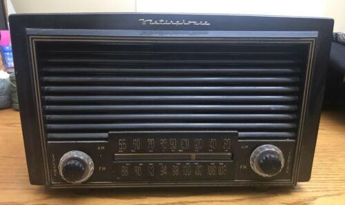 Vintage Westinghouse Tube Radio H-324T7 - Original Powers up No reception