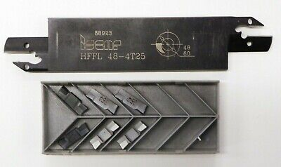 Iscar Hffl 48-4t25 Parting Grooving Blade W Hfpl 4004 Carbide Inserts E086
