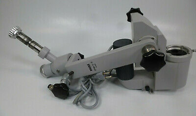 Zeiss Opmi 6-s Surgical Microscope Body W Power Zoom Lamp Mounting Arms X-y