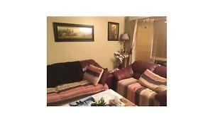 2 sofas $200