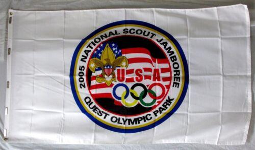 OLYMPICS 2005 Boy Scout National Jamboree Flag MINT NJ Official Event 3