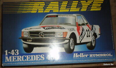 Heller  1/43  MERCEDES 450  80148  SPA 1982