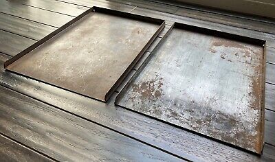 Galley Trays For Letterpress Typesetting 13x9 Vintage Printing Equipment