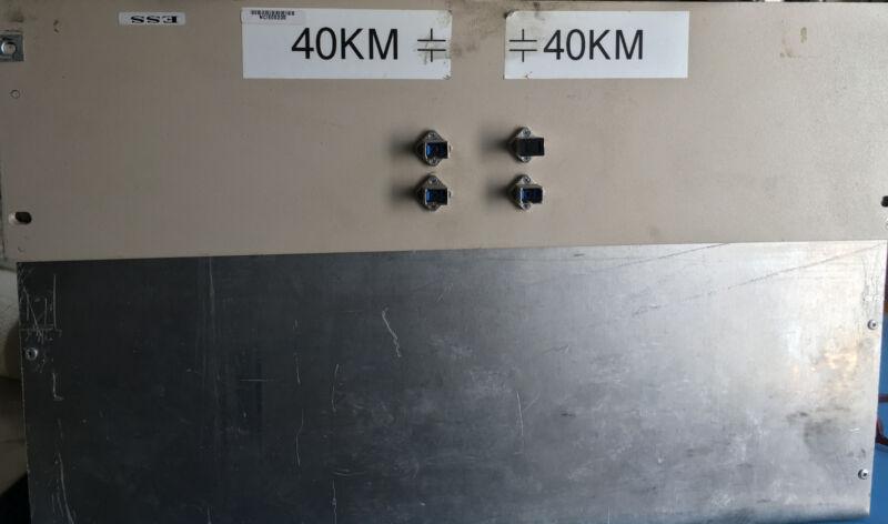 Corning Smf-28 Single Mode Fiber 40km+40km W Conectors In Box