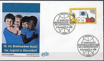 Bund, Mi-Nr. 1472 auf FDC, 10. Intern. Briefmarken-Ausst. der Jugend