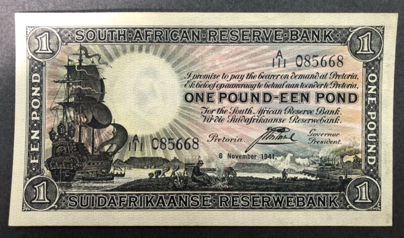 South Africa Banknote P.84e