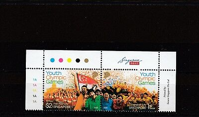 SINGAPORE - SG1779-1780 MNH 2008 YOUTH OLYMPIC GAMES SINGAPORE