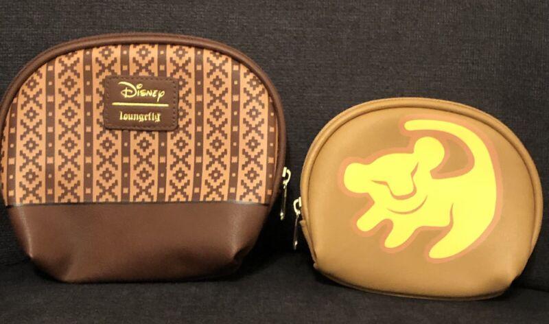 Loungefly Disney Lion King 2 Piece Cosmetic Bag Set