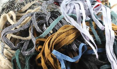 100 Assorted #8 Wool Strips for Rug Hooking