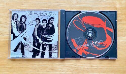 Bon Jovi CROSS ROAD  Autographed CD 2002 RARE NEW!