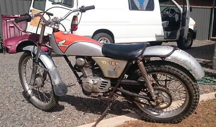 swap and trade honda 125 cc trials bike
