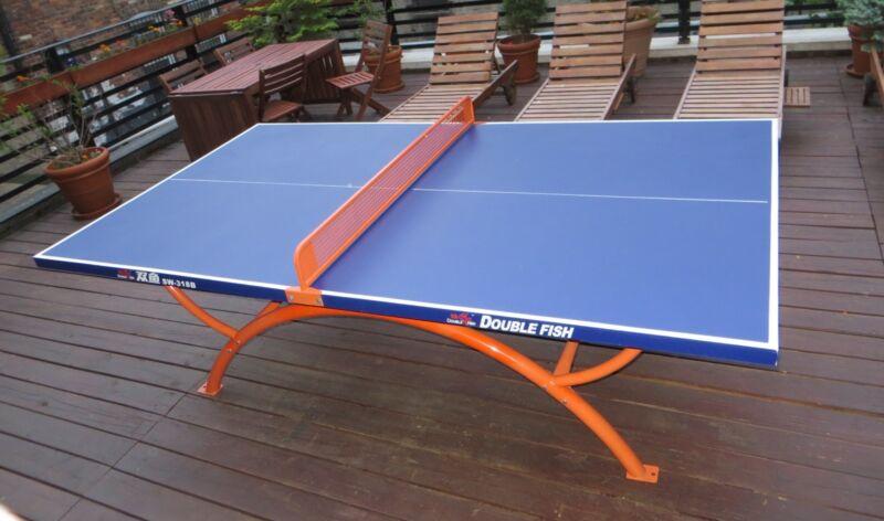 Pre-ORDER Unique Pretty Quality Outdoor Table Tennis Ping Pong Table LA/FL/NJ/TX
