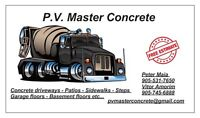 Get your concrete done today !!!