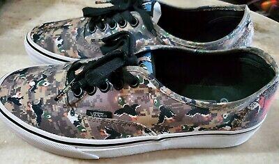 Rare Vans shoes, Nintendo Duck Hunt, Mens Shoe 8, Womens Shoe 9.5
