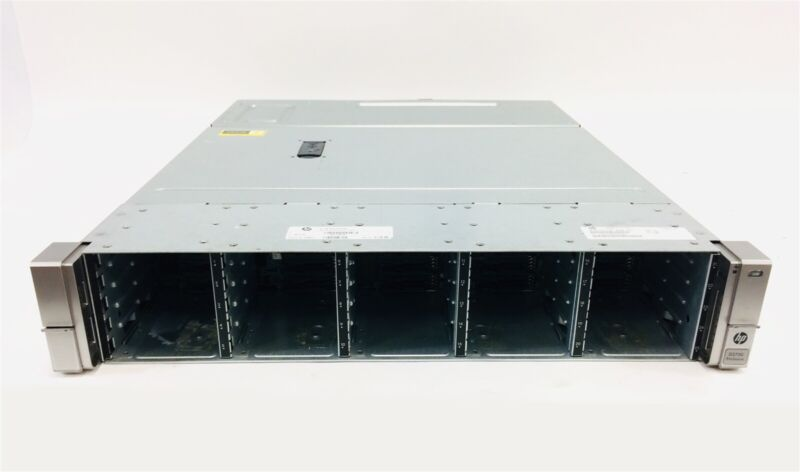 "HP QW967A D3700 (25x) 2.5"" SFF Drive Bays (2x) 460W PSU (2x) I/O Controller"