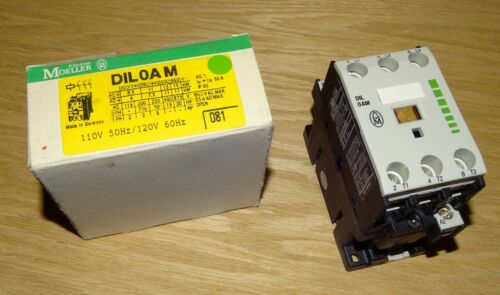 NEW Klockner Moeller Contactor, DIL 0 AM, DIL0AM, 120 Volt AC Coil, Germany