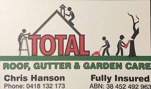 Total roof, gutter and garden care Perth Northern Midlands Preview