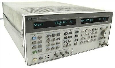 Hewlett Packard Hp 8643a Synthesized Signal Generator 0.26 - 1030mhzoption 009