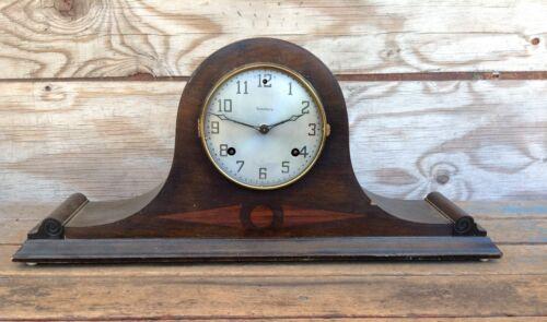 Vintage Waterbury Mantle Clock with Key