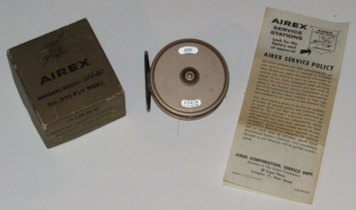 Airex Meisselbach Ablette Fly Reel w Original Box No.371 VGC