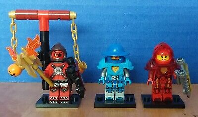 LEGO Nexo Knights Minifigure lot FREE SHIPPING!