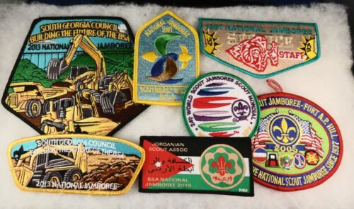 Got these at 2021 SR-9 Conclave: Lot of 7 Vintage Jamboree Items