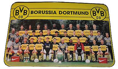 Tisch-Untersetzer BVB 09 Dortmund Meisterfoto Teamfoto 1997 CL u Weltpokalsieger, gebraucht gebraucht kaufen  Engelthal