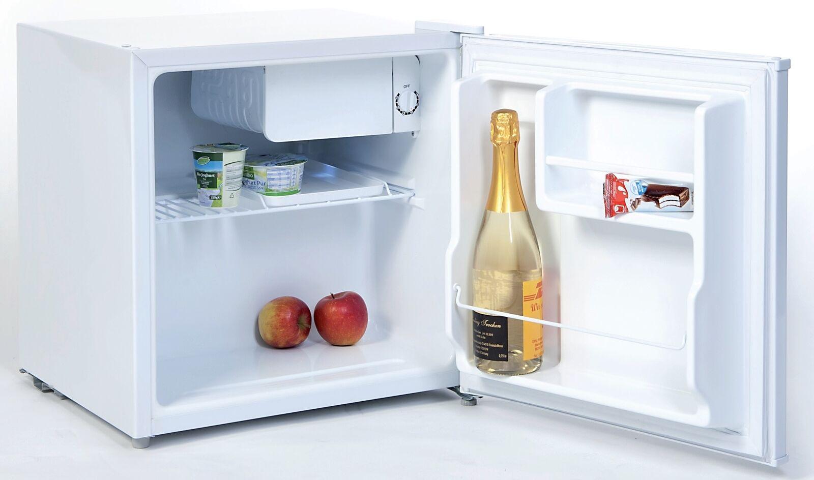 Kühlbox A+ mit Tiefkühlfach Kühlschrank weiß mini klein Büro Camping Gefrierfach