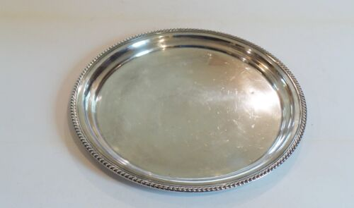 "Gorham Sterling Silver 14"" Service Tray #484, 665 grams"