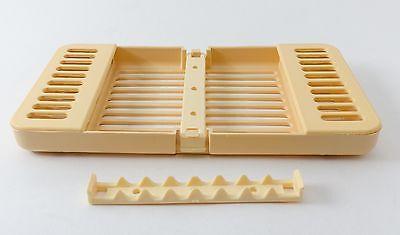 Dental Surgical Instrument Sterilization Plastic Compact Cassette Autoclavable