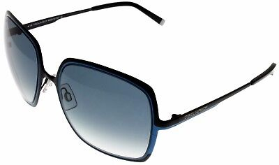 Dsquared Sunglasses Women Black Blue 100% UV Protection Square DQ0012 05W