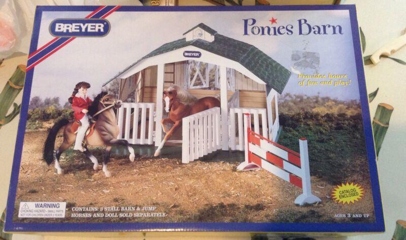 Breyer Ponies Barn #7010 New In Box 1996