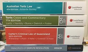 Law Textbooks Thornlands Redland Area Preview
