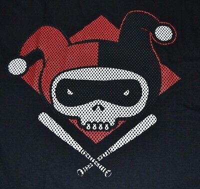 Marvel Harley Quinn Jester Baseball Bat T-Shirt Officially Licensed DC Comics